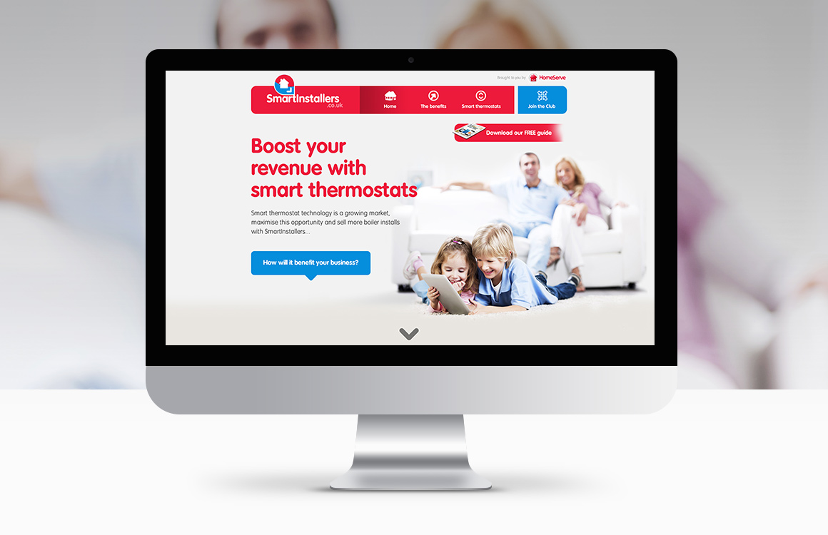 HomeServe Smartinstallers portal website