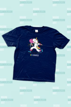 Kids CX cyclocross unicorn tshirt