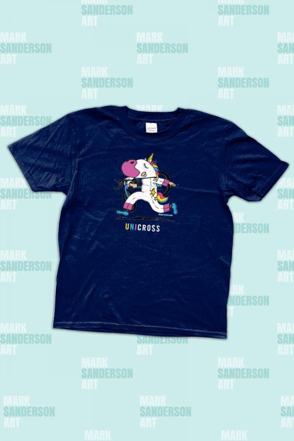 Kids CX cyclocross unicorn tshirt