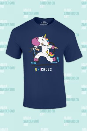 Cyclocross Unicorn tshirt